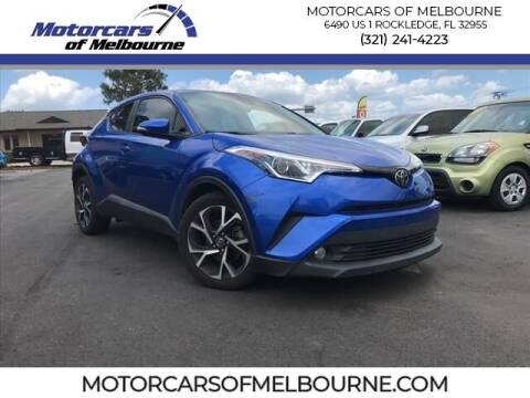 2018 Toyota C-HR for sale at Motorcars of Melbourne in Rockledge FL