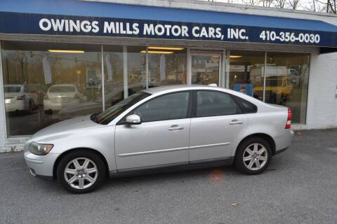 2007 Volvo S40 for sale at Owings Mills Motor Cars in Owings Mills MD