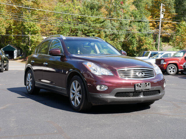 2013 Infiniti EX37 for sale at Canton Auto Exchange in Canton CT