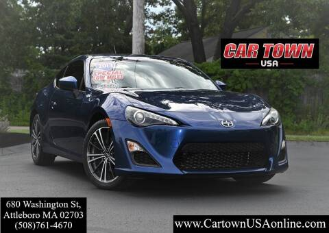2013 Scion FR-S for sale at Car Town USA in Attleboro MA