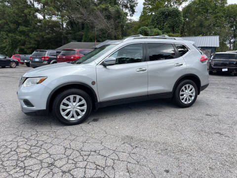 2016 Nissan Rogue for sale at Adairsville Auto Mart in Plainville GA