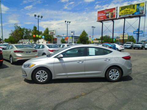 2017 Hyundai Elantra for sale at Smart Buy Auto Sales in Ogden UT