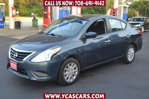 2016 Nissan Versa for sale at Your Choice Autos - Crestwood in Crestwood IL