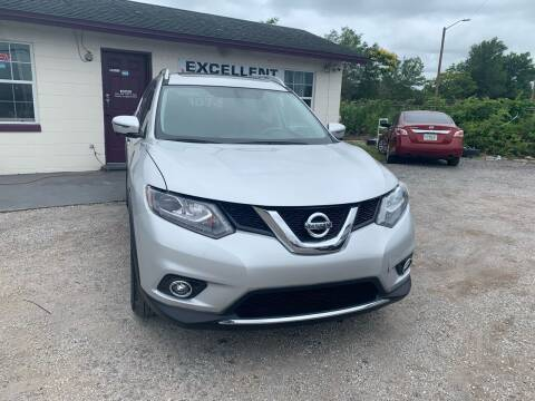2016 Nissan Rogue for sale at Excellent Autos of Orlando in Orlando FL