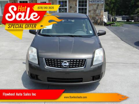 2007 Nissan Sentra for sale at Flywheel Auto Sales Inc in Woodstock GA