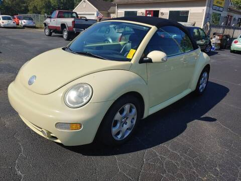2003 Volkswagen New Beetle Convertible for sale at Germantown Auto Sales in Carlisle OH