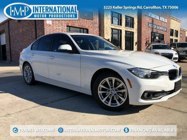 2017 BMW 3 Series for sale at International Motor Productions in Carrollton TX