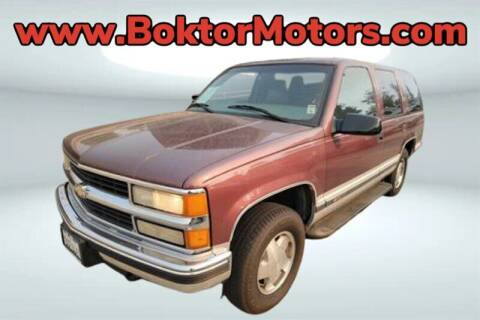 1997 Chevrolet Tahoe for sale at Boktor Motors in North Hollywood CA