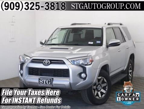2020 Toyota 4Runner for sale at STG Auto Group in Montclair CA