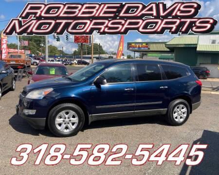 2011 Chevrolet Traverse for sale at Robbie Davis Motorsports in Monroe LA