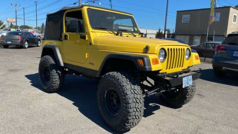 2002 Jeep Wrangler for sale at Universal Auto Inc in Salem OR