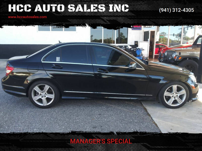 2011 Mercedes-Benz C-Class for sale at HCC AUTO SALES INC in Sarasota FL