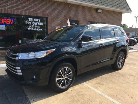 2019 Toyota Highlander for sale at Bankruptcy Car Financing in Norfolk VA