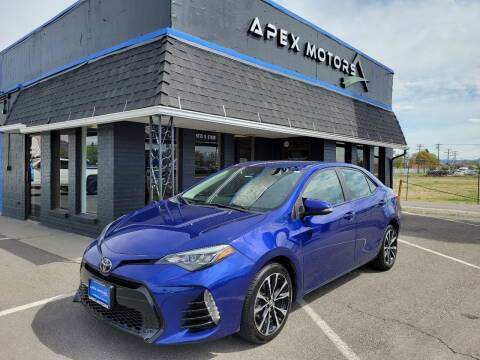 2018 Toyota Corolla for sale at Apex Motors in Murray UT