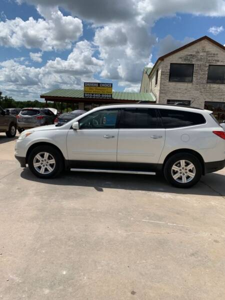 2011 Chevrolet Traverse for sale at Driver's Choice in Sherman TX