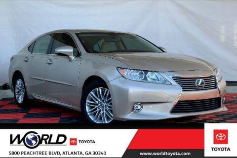 2014 Lexus ES 350 for sale at CU Carfinders in Norcross GA