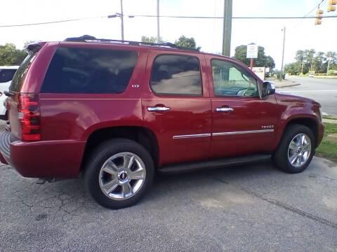 2010 Chevrolet Tahoe for sale at Rocky Mount Motors in Battleboro NC