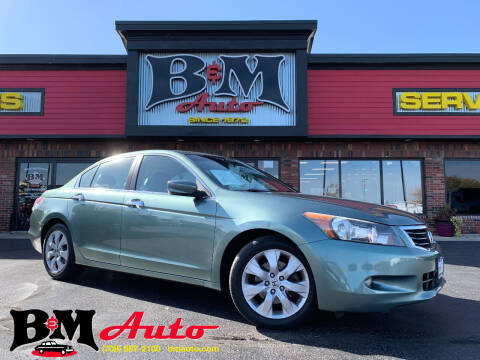 2008 Honda Accord for sale at B & M Auto Sales Inc. in Oak Forest IL