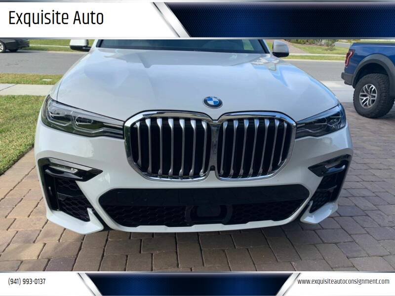 2019 BMW X7 for sale at Exquisite Auto in Sarasota FL