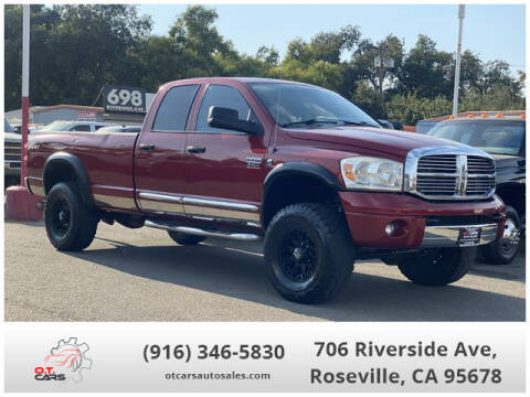 2008 Dodge Ram Pickup 3500 for sale at OT CARS AUTO SALES in Roseville CA