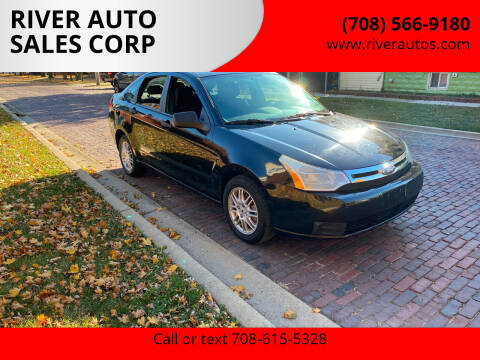 2010 Ford Focus for sale at RIVER AUTO SALES CORP in Maywood IL
