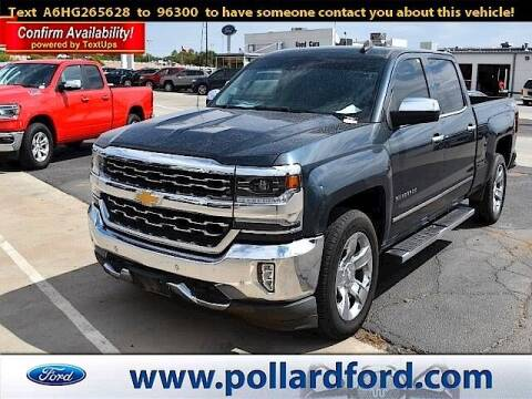2017 Chevrolet Silverado 1500 for sale at South Plains Autoplex by RANDY BUCHANAN in Lubbock TX