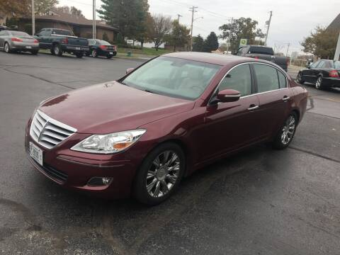 2009 Hyundai Genesis for sale at Hoss Sage City Motors, Inc in Monticello IL