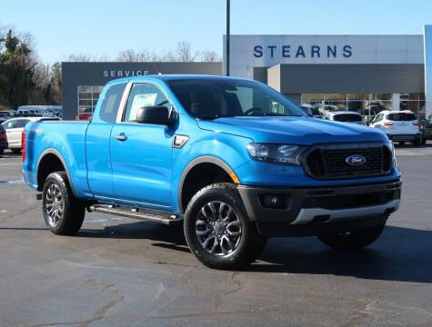 2021 Ford Ranger for sale at Stearns Ford in Burlington NC
