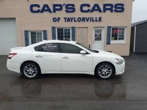 2010 Nissan Maxima for sale at Caps Cars Of Taylorville in Taylorville IL