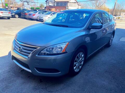 2014 Nissan Sentra for sale at Dijie Auto Sale and Service Co. in Johnston RI