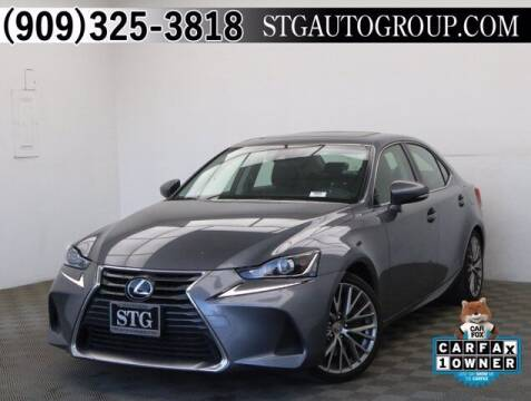 2018 Lexus IS 300 for sale at STG Auto Group in Montclair CA