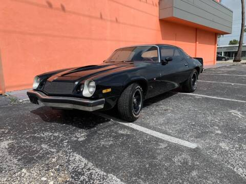 1976 Chevrolet Camaro for sale at YID Auto Sales in Hollywood FL