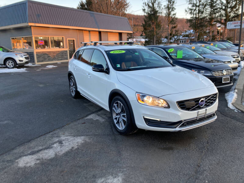 2016 Volvo V60 Cross Country for sale at JERRY SIMON AUTO SALES in Cambridge NY