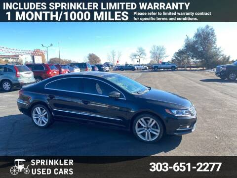 2013 Volkswagen CC for sale at Sprinkler Used Cars in Longmont CO