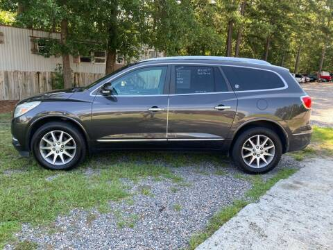 2013 Buick Enclave for sale at Joye & Company INC, in Augusta GA