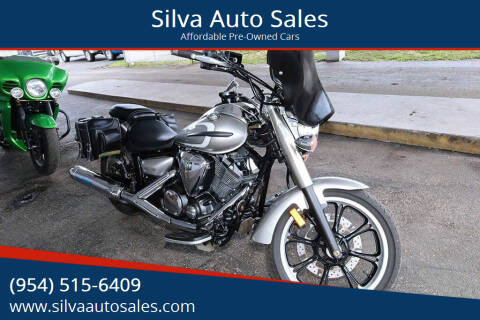 2012 Yamaha V-Star for sale at Silva Auto Sales in Pompano Beach FL
