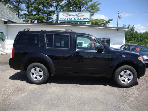 2008 Nissan Pathfinder for sale at G and G AUTO SALES in Merrill WI