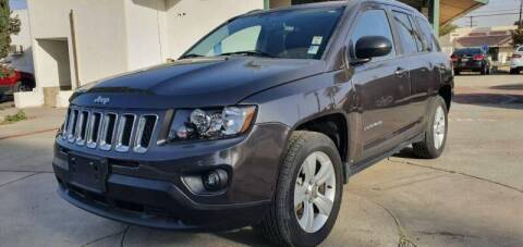 2015 Jeep Compass for sale at Auto Land in Ontario CA