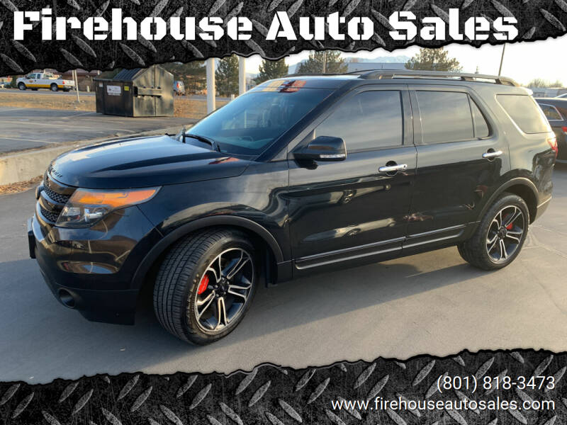 2013 Ford Explorer for sale at Firehouse Auto Sales in Springville UT