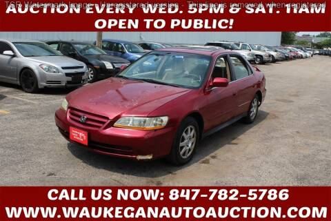 2002 Honda Accord for sale at Waukegan Auto Auction in Waukegan IL
