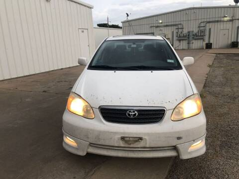 2005 Toyota Corolla for sale at DFW AUTO FINANCING LLC in Dallas TX