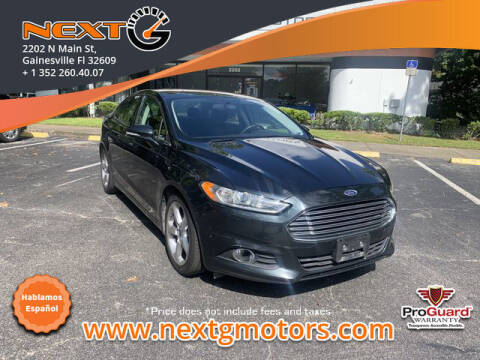 2014 Ford Fusion for sale at Next G Motors in Gainesville FL
