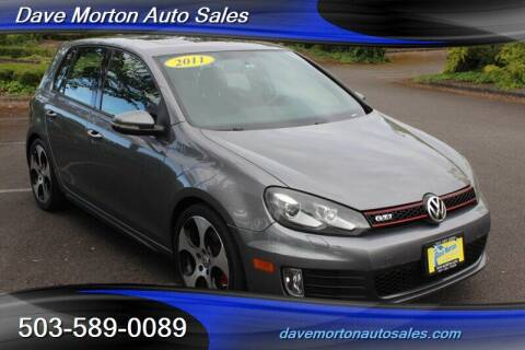2011 Volkswagen GTI for sale at Dave Morton Auto Sales in Salem OR