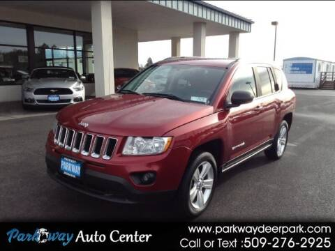 2012 Jeep Compass for sale at PARKWAY AUTO CENTER AND RV in Deer Park WA