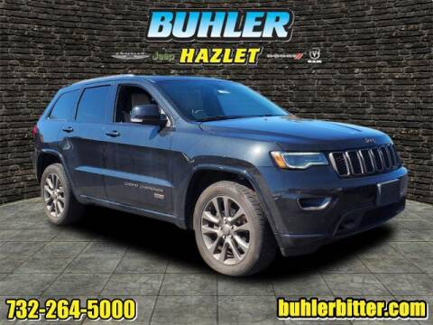 2016 Jeep Grand Cherokee for sale at Buhler and Bitter Chrysler Jeep in Hazlet NJ