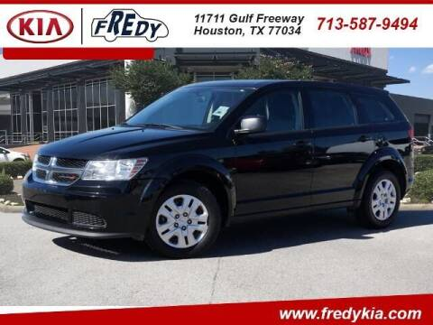 2014 Dodge Journey for sale at FREDY KIA USED CARS in Houston TX
