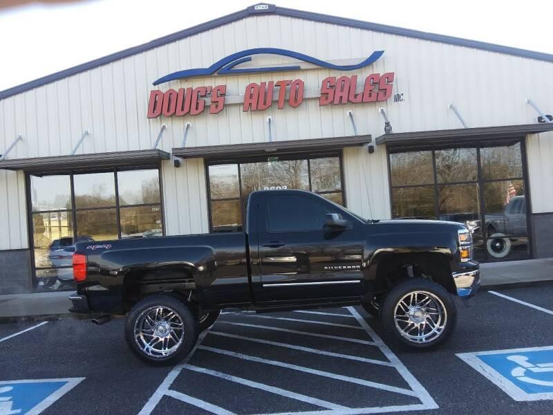 2015 Chevrolet Silverado 1500 for sale at DOUG'S AUTO SALES INC in Pleasant View TN