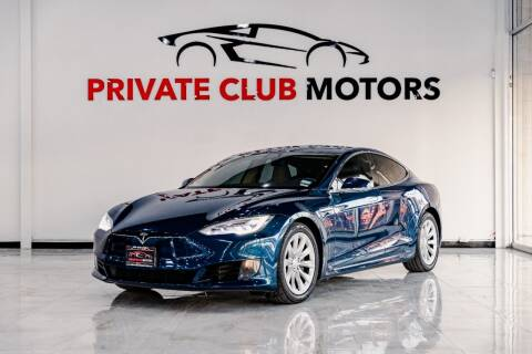 2016 Tesla Model S for sale at Private Club Motors in Houston TX