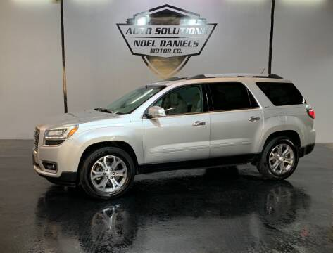 2014 GMC Acadia for sale at Noel Daniels Motor Company in Ridgeland MS