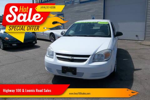 2005 Chevrolet Cobalt for sale at Highway 100 & Loomis Road Sales in Franklin WI